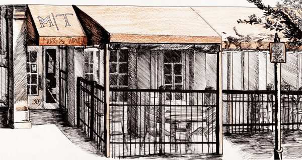 High-Res Smyrna Store Front Drawing – Rachel Bongard 2